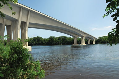 Rendering of the new bridge. (Rendering Courtesy of FIGG).